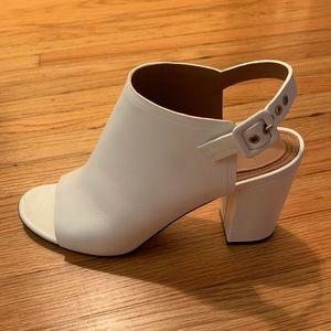 Givenchy slingback open toe heel size 10/40